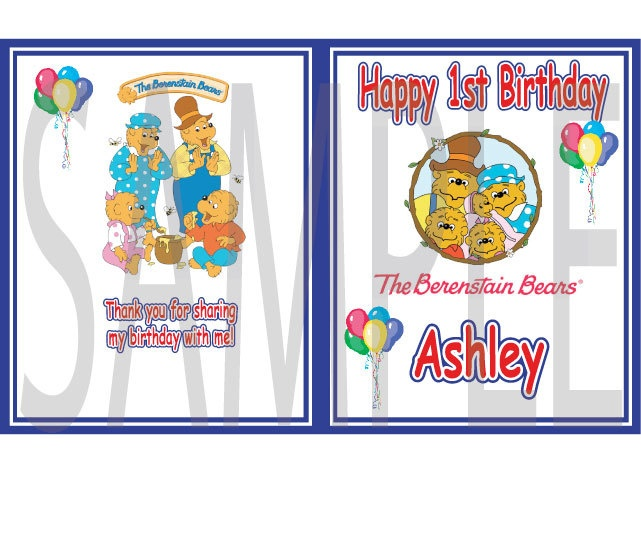 10 berenstain bears coloring books birthday party favors 1 free b day button - Berenstain Bears Coloring Book