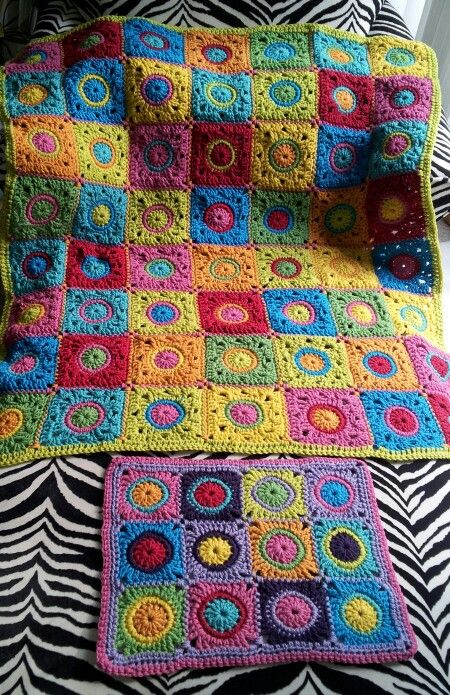 Sam's blanket and doll blanket