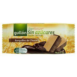 Gullón DietNature diabetikus kakaós ízesítésű töltött nápolyi édesítőszerrel