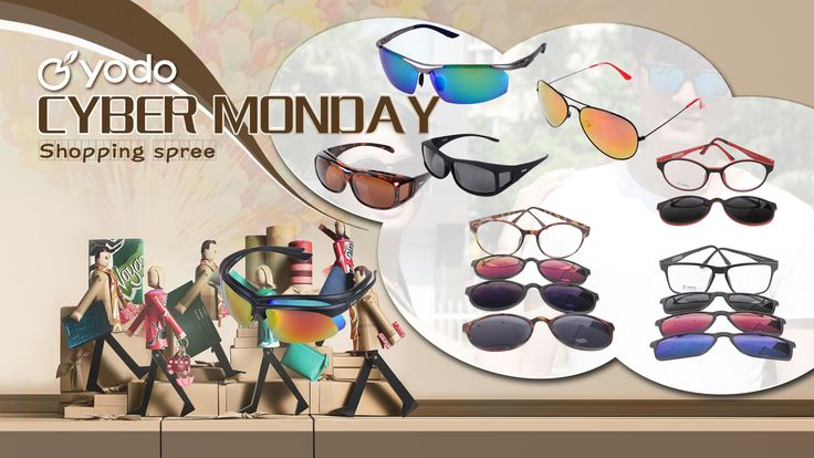 Treat yourself in this Cyber Monday. Click the 2nd picture to know how to choose a sunglasses according to your facetype. :) Yodo Polarized Sunglasses and Solar Shield Overglasses. http://amzn.to/2fHOyYT