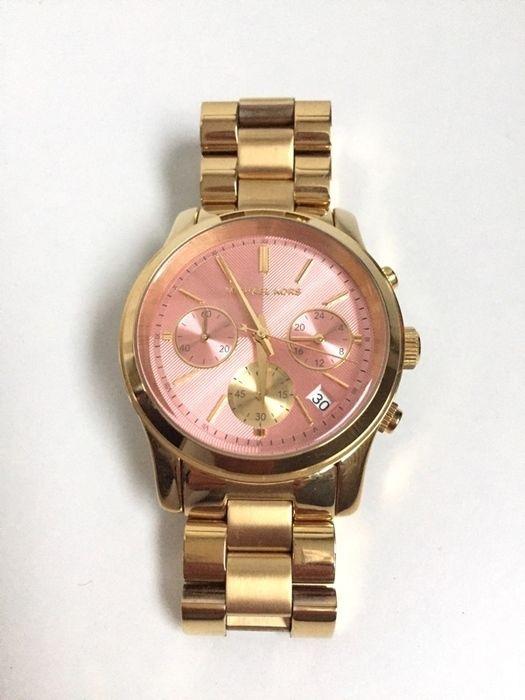 Michael Kors Uhr Gold rosa Modell Runway MK 6161 NP 249€