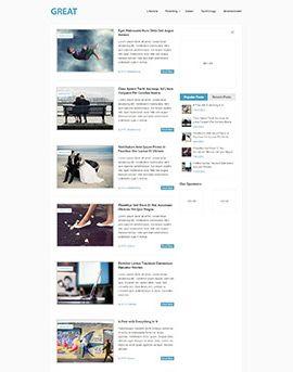 Great Free Wordpress Website Template