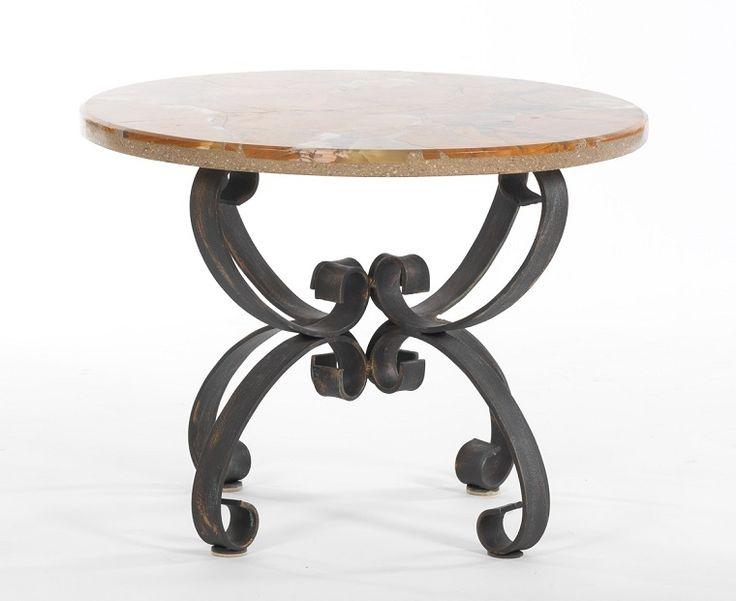 tavolo-ferro-battuto-top-tondo