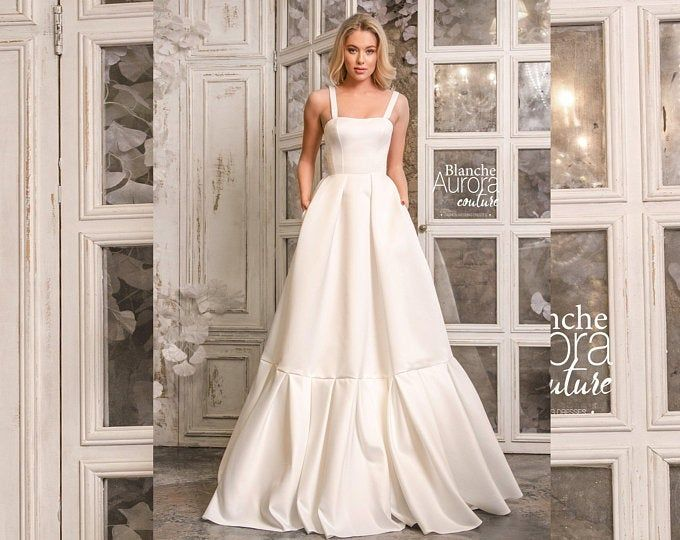 Wedding dress, beach wedding dresses, vintage wedding