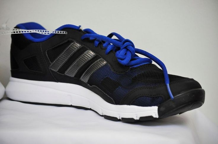 ADIDAS A.T. TERO Men SNEAKER ATHLETIC TRAINING SHOES Black/Navy/White size 10 #adidas #RunningCrossTraining