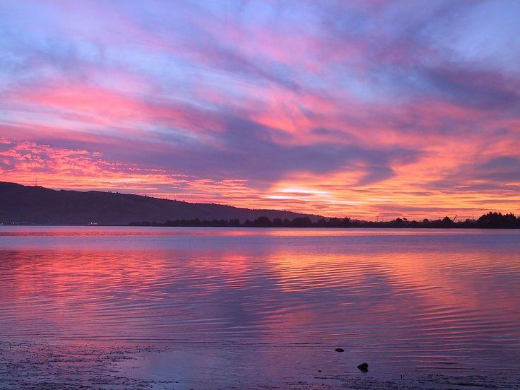 See, Abend, Sonnenuntergang, Abendstimmung, Wasser