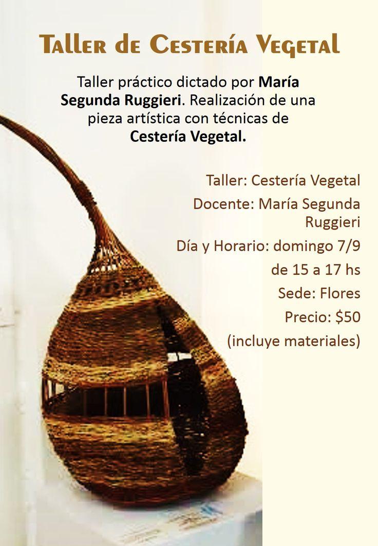 Cestería Vegetal en el festival Textil del Año!!