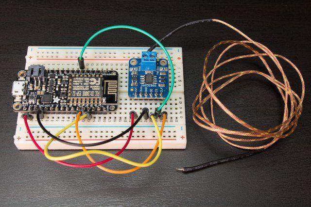 Thermocouple Amplifier Max31855 Breakout Board Max6675 Upgrade Breakout Board Amplifier Arduino Projects