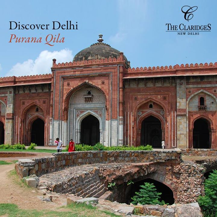 You won't have to travel far to see one of the oldest forts in Delhi standing stoically amidst wild greenery!