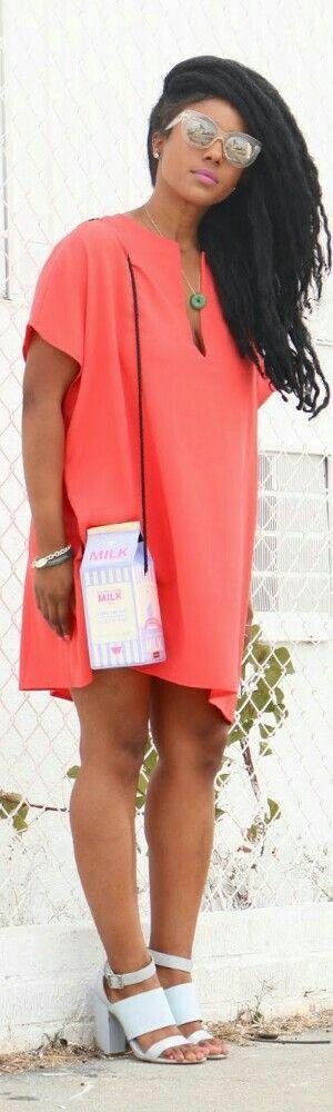 Dress by American Apparel / Fashion by Zahra Jamila