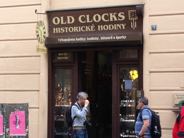 Back to old times in Prague Jewish Quarter
