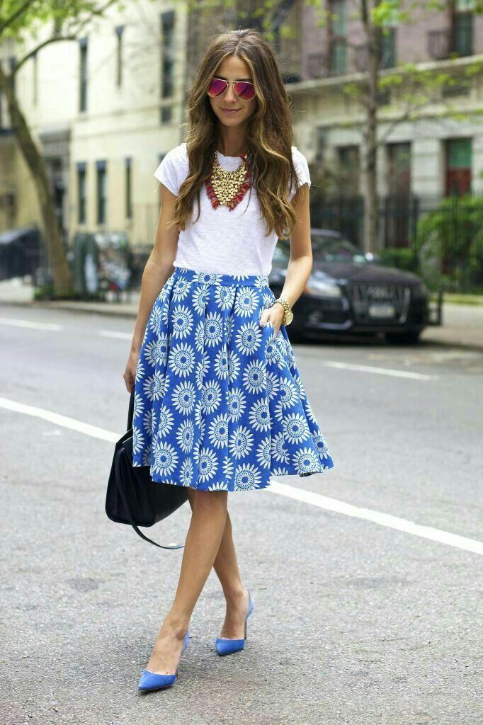 #StreetStyle #Summer #Blue