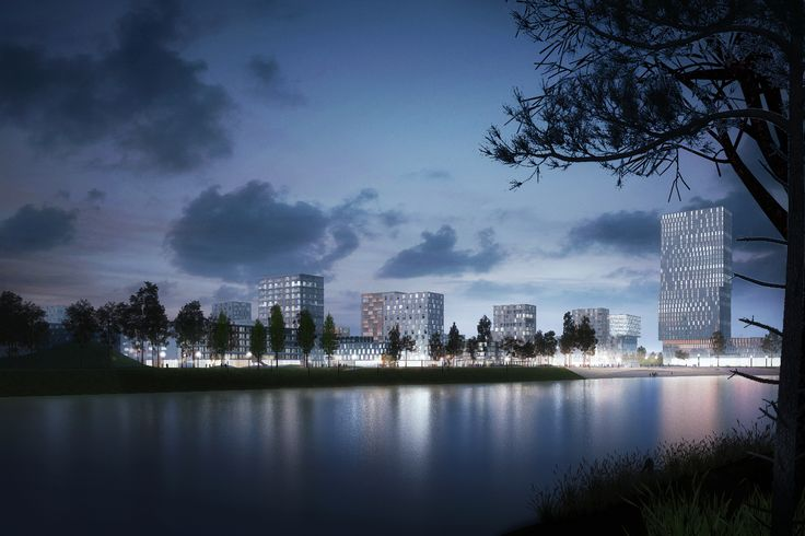 Gallery of Budapest's Largest Urban Development in 30 Years Begins Construction - 1