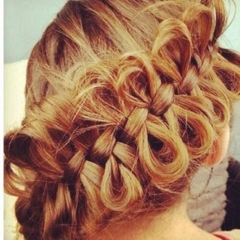 bow braids...i freaking love this...@Taylor you have do this then show me how lol