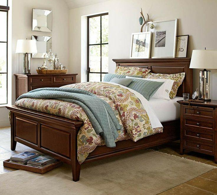 Hudson bed pottery barn australia master bedrooms by - Pottery barn master bedroom ideas ...