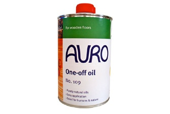 One-off oil for wooden floors, made from natural ingredients, solvent free and breathable. £34.90