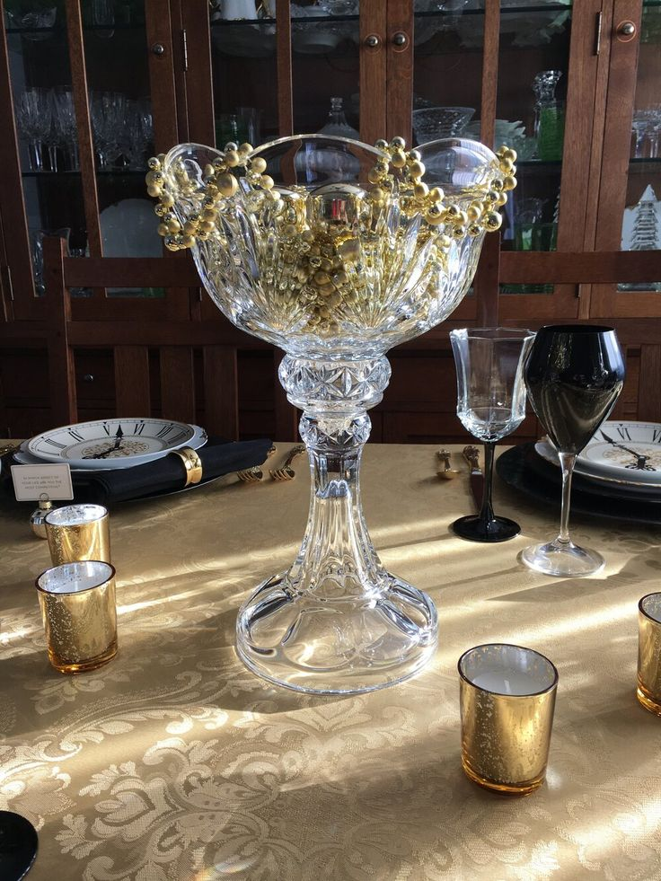 Time for a New Year's Eve Table in 2020 | Mercury votive ...