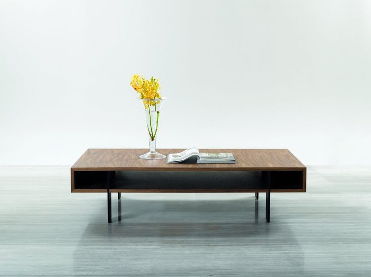 Modern Matte Coffee Table Furniture In Brown   $$375    Features:  Rectangular,