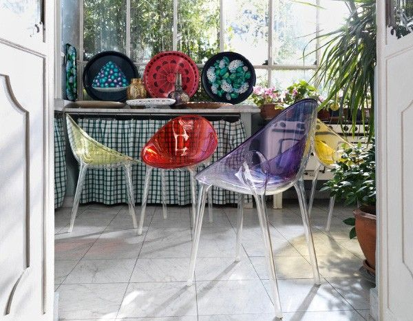 outdoor cottage inspirations | Modern Interior Inspirations from Kartell - a colorful transformation ...