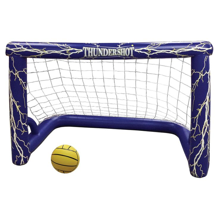 Thunder-shot Water Polo Pool Game, Blue/Yellow