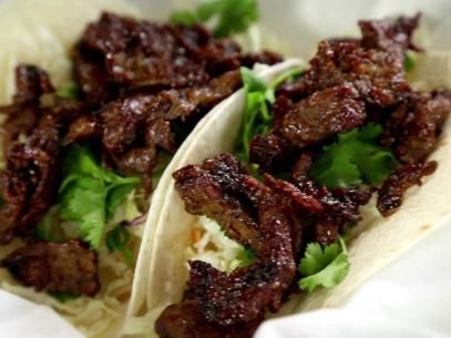 Korean Bulgogi Taco Recipe Recipe | Food Network