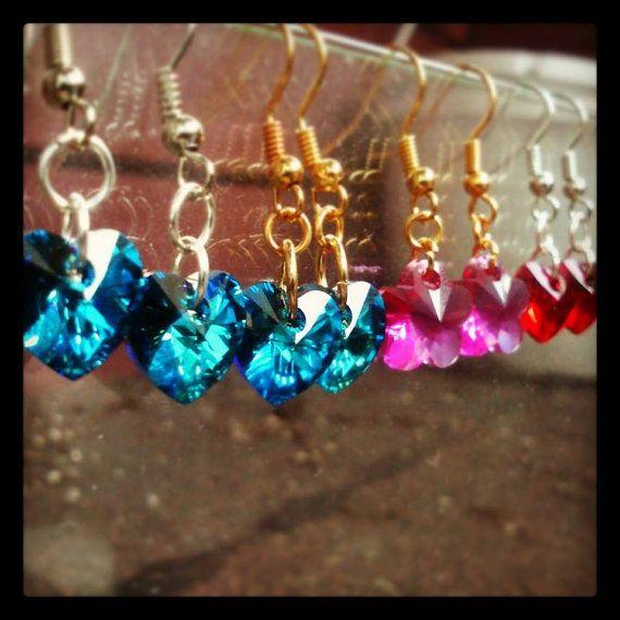 Swarovski Earrings~ Handmade