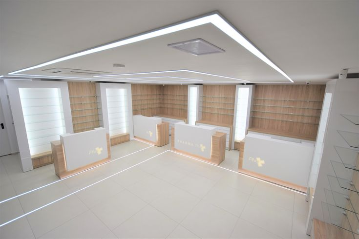 Commercial LED lighting, concept & installation by Euroneon
