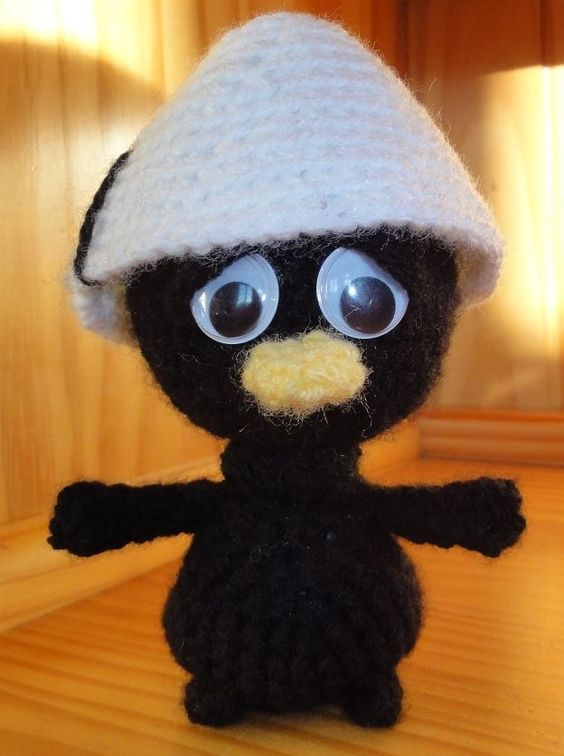 amigurumi capcrochet crochet animaux calimero