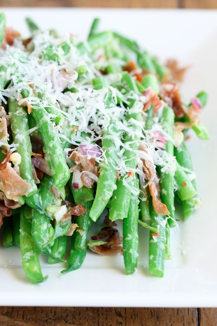 Green Beans with Prosciutto, from Deliciously Organic