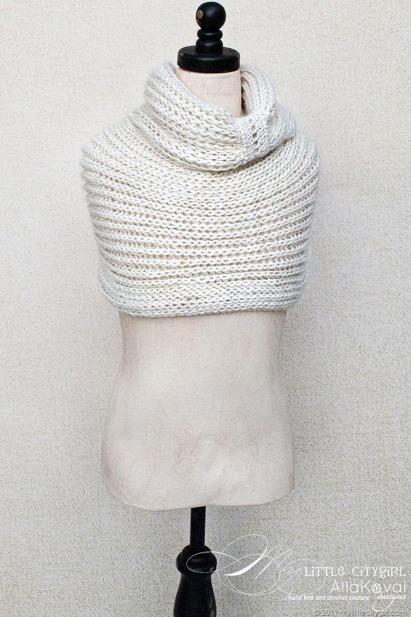 Mejores 35 imágenes de Crochet & Knit Scarf Cowl Patterns en ...
