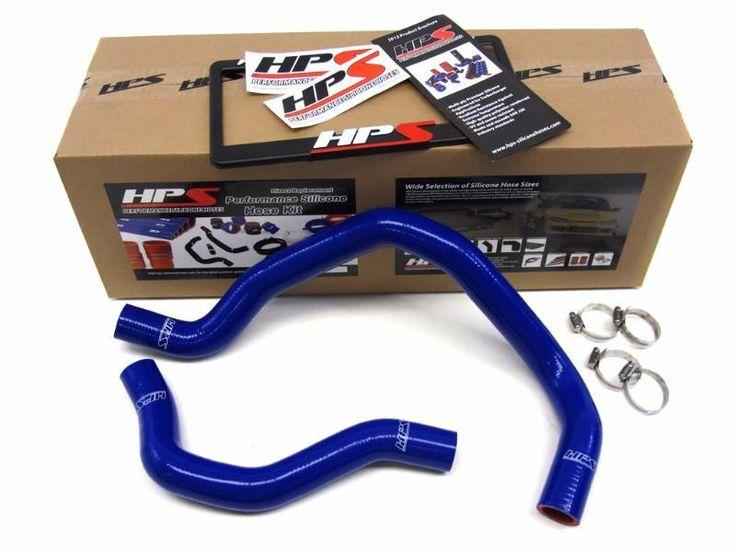 HPS Blue 3-Ply Silicone Radiator Hose Kit for Honda 88-91 Civic B16 Engine