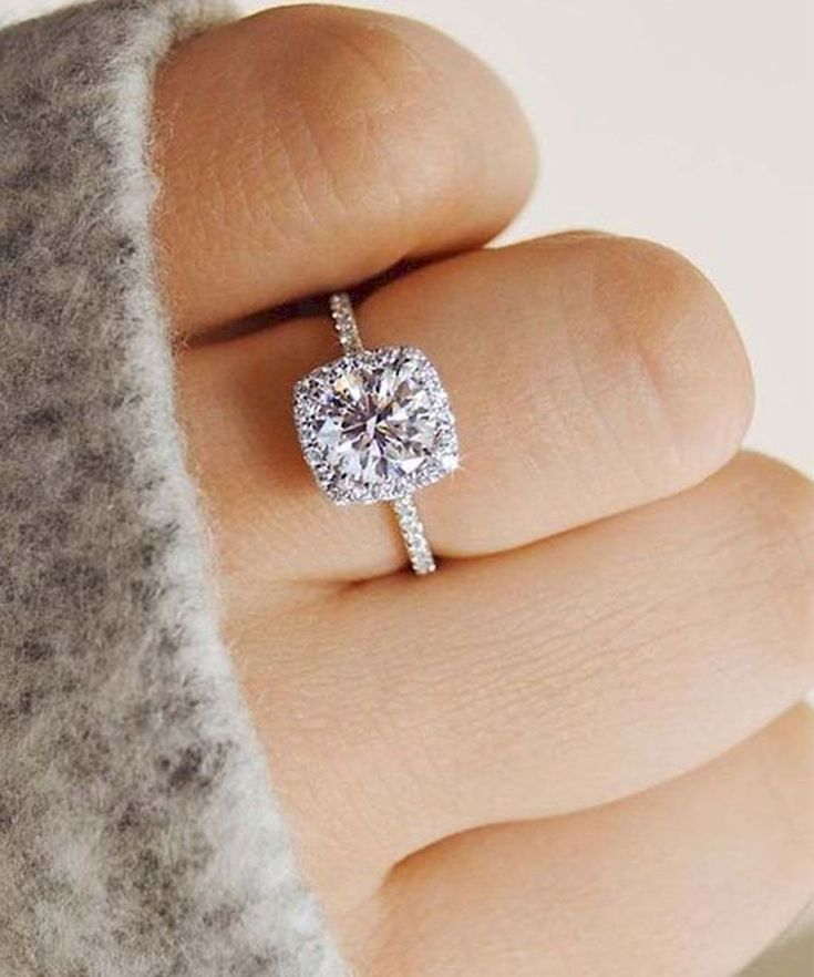 35 simple engangement ring ideas for every kind women
