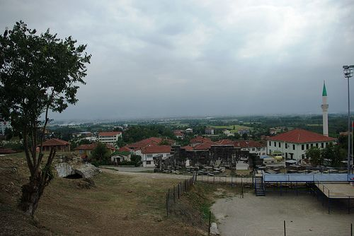 village from antique city, Üskübü