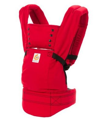 http://www.going.co.za/ergo-baby-carrier-red-sport - Ergo Baby Carrier Red Sport + Free teething pad