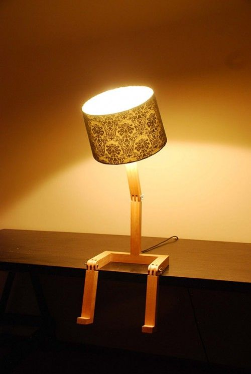 These Beautiful U201csitting Lampsu201d Created By Graeme Bettles. More Stuff For  Your Inspiration:Bread Lamps: Artist Crafts Lamps From ...