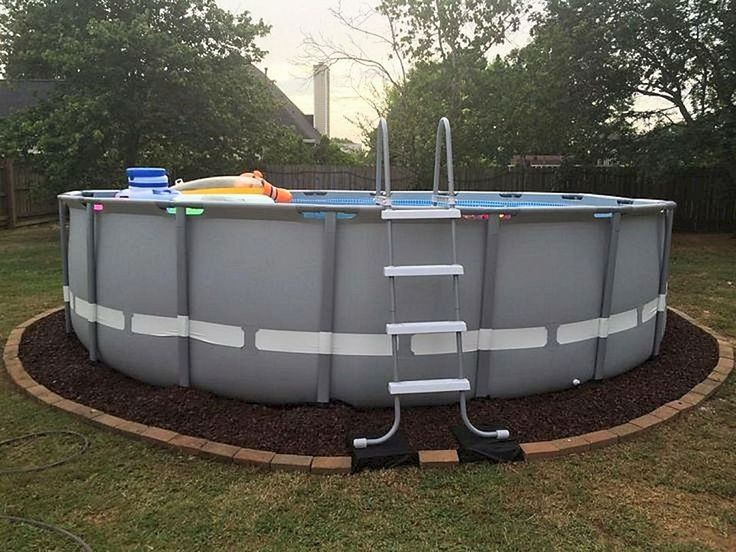 25 best ideas about above ground swimming pools on for Above ground pool ideas on a budget