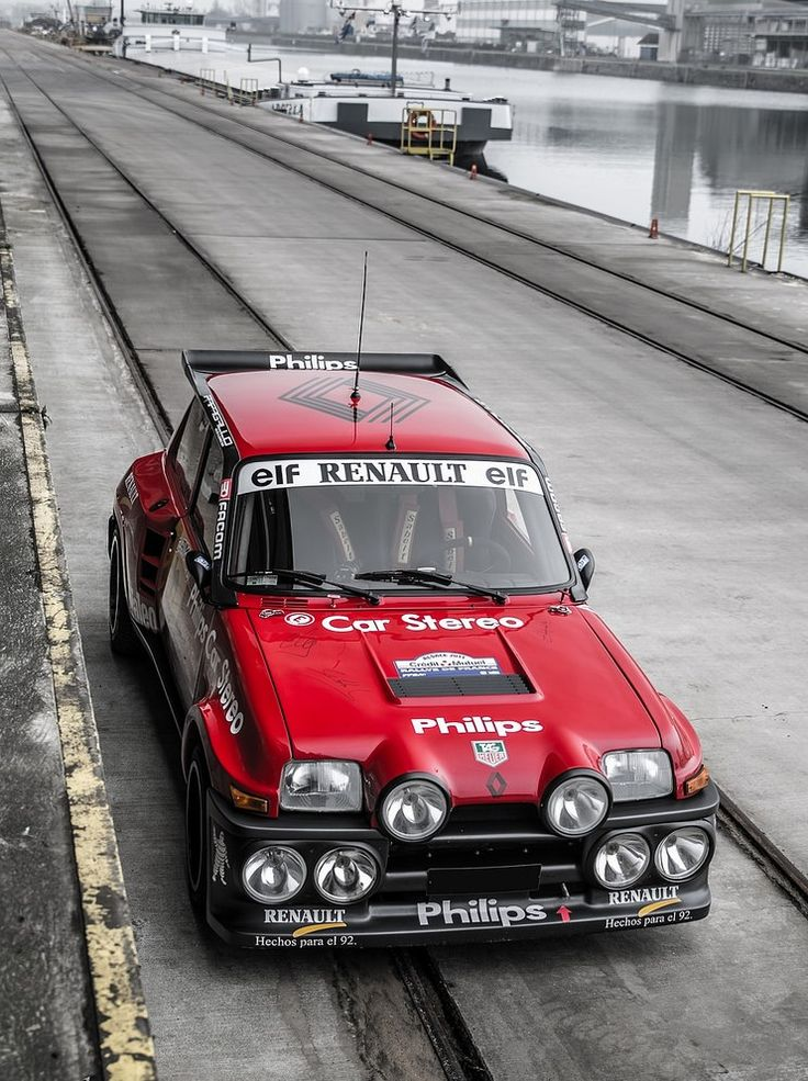 Renault R5 Turbo #renault #rally