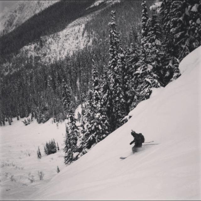 Powder in Canada