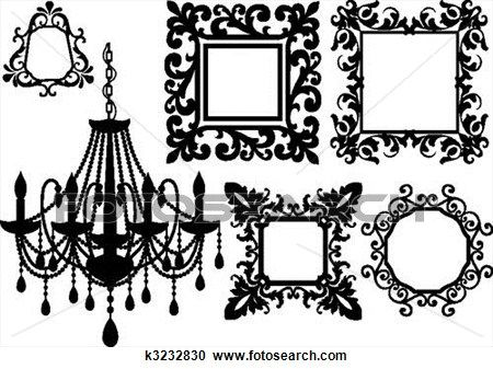 free artwork illustrations of crystal chandeliers - Bing Images