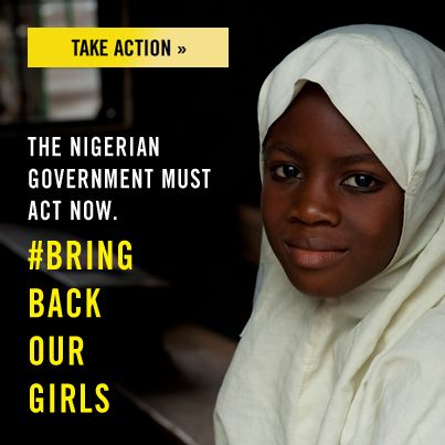 #Bring Back Our Girls - Take Action now!