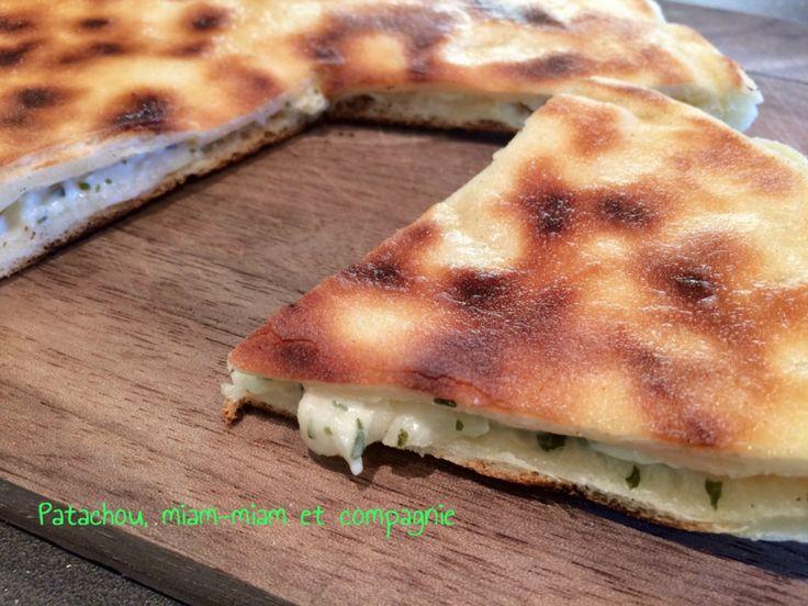 cheese naans faciles et super bons !