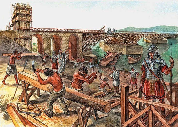 Hispania Romana (Roman Spain) - Apolodoro de Damasco y el Puente de Trajano