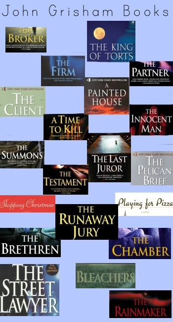Anything by John Grisham - It is hard to pick a favorite...The Innocent Man, The Broker, Bleachers...