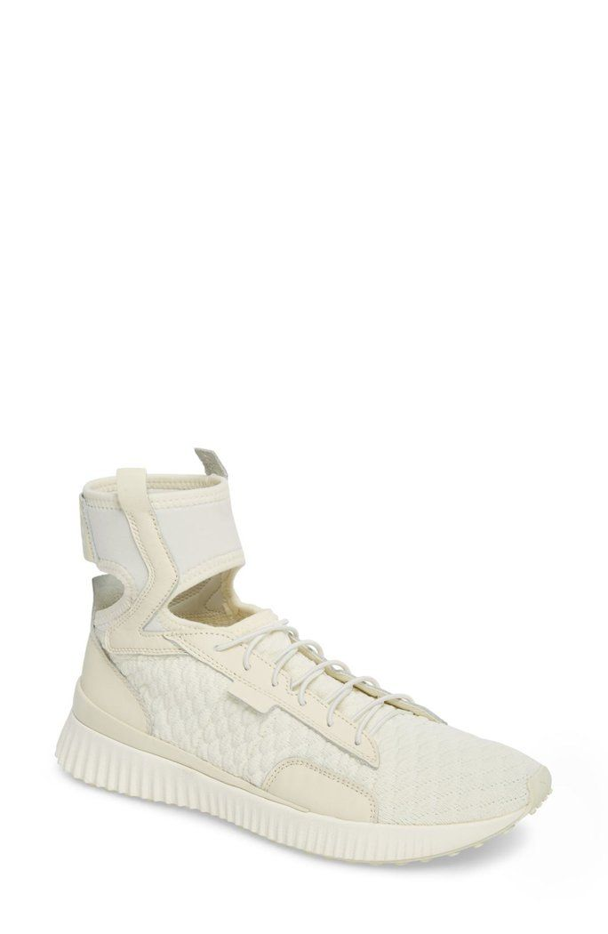 deeb435f789 Leather High Top Sneaker  FENTY  PUMA by  Rihanna  Shoes  Fashion