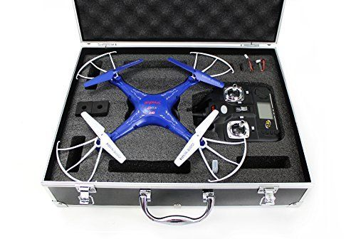 Special Offers - Syma X5C-1 Quadcopter Drone Blue Bundle with Carrying Case and extra batteries! Newest 2015 X5C-1 version - In stock & Free Shipping. You can save more money! Check It (June 08 2016 at 11:49AM) >> http://kidsscooterusa.net/syma-x5c-1-quadcopter-drone-blue-bundle-with-carrying-case-and-extra-batteries-newest-2015-x5c-1-version/