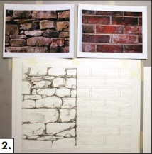 Learn the art of airbrushing and how to give effects of bricks and stones through them.   This is a step by step guide which will help you paint something as incredible as this is.
