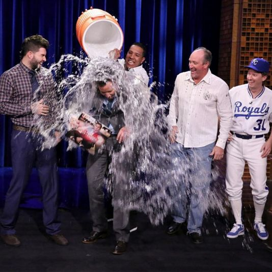 Hos and Salvy took the World Series celebration to Jimmy Fallon last night!