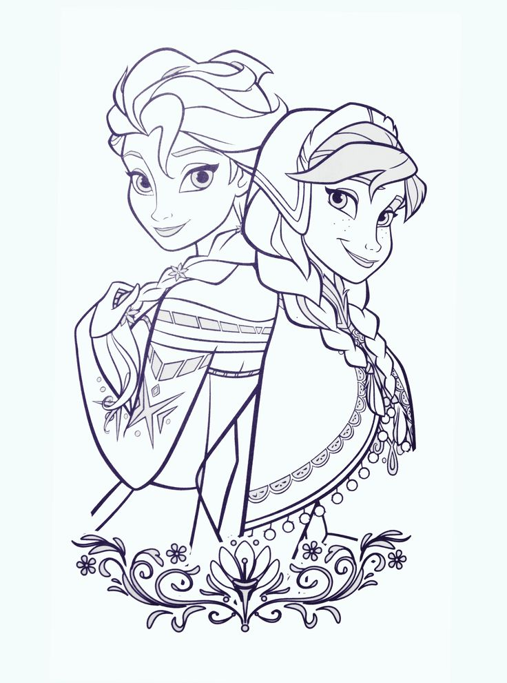 97 best Disney Frozen Coloring
