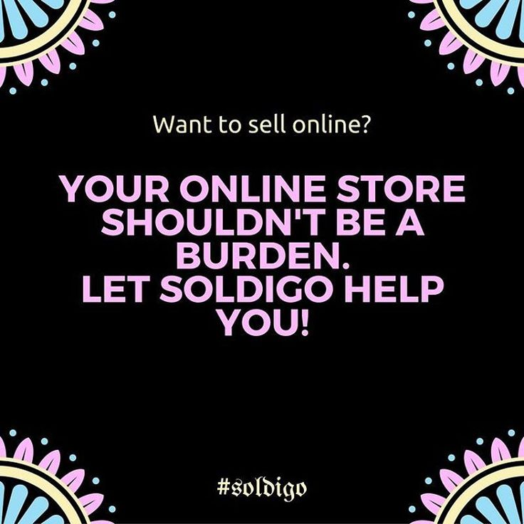 Let Soldigo help you build your online store and guide you through ecommerce  https://soldigo.com/free-tools #sellonlinewithsoldigo #makealivingdoingwhatyoulove #beyourownboss #sellonlinewithoutheadache #yeey