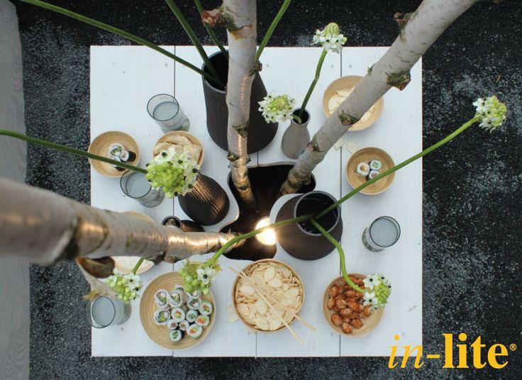 Buiten | Eten | Vrienden | Buitenspot | SCOPE | Tuinverlichting